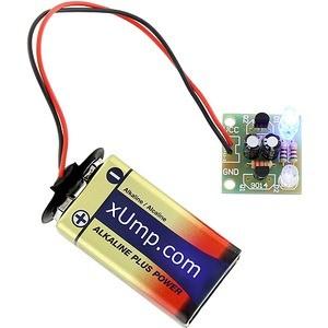 Assembled Flashing LED Circuit